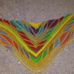 Butterfly shawl