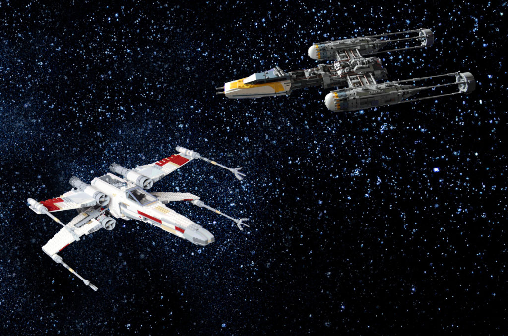 X and Y wing